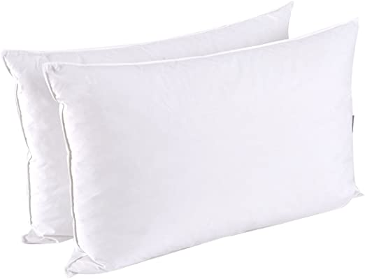 Nature/'s Best 70/% Waterfowl Feather 30/% Polyester Standard Pillow