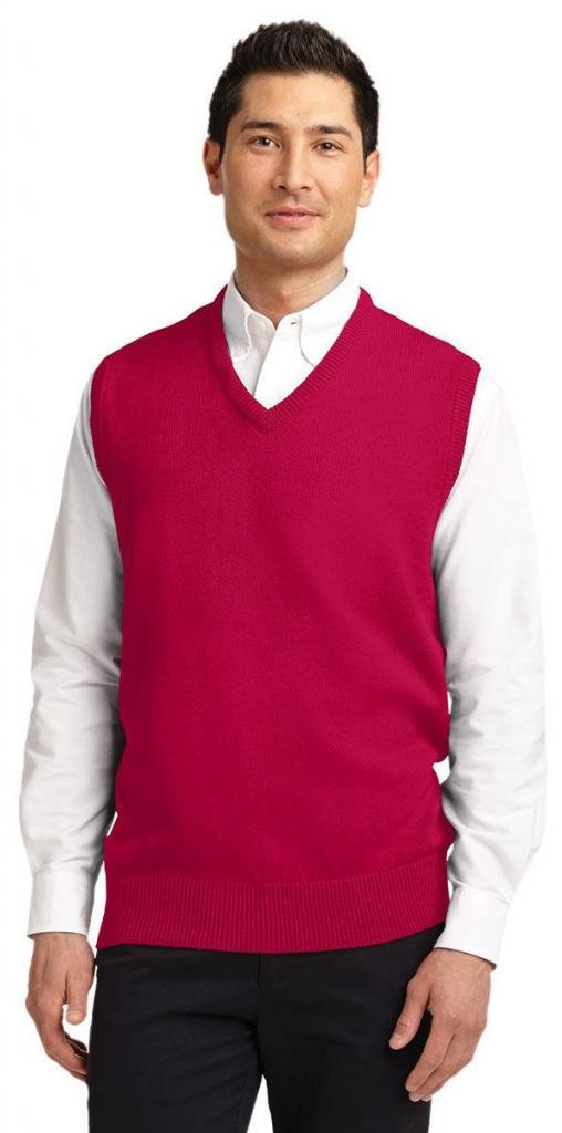 Port Autority Men's Value V-Neck Sweater Vest SW301