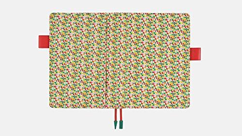 Hobonichi Techo Cousin - Liberty Fabrics: Fluttering Set (Japanese/A5/Jan 2018 Start) by Hobonichi Techo (Image #1)