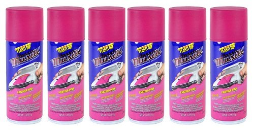 Performix 11302-6 Panther Pink Classic Muscle Car Rubber Coating, 11 oz, 6 Pack by Plasti Dip