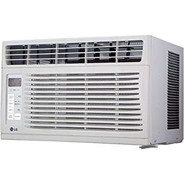 LG LW6015ER 6,000 BTU 115V Window-Mounted Air Conditioner with Remote Control