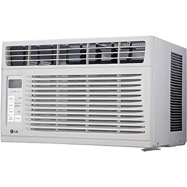 LG LW6015ER 6,000 BTU 115V Window-Mounted Air Conditioner with Remote Control
