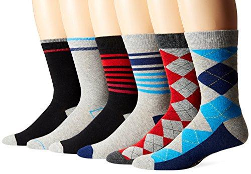 Ben Sherman Mens 6 Pack Socks