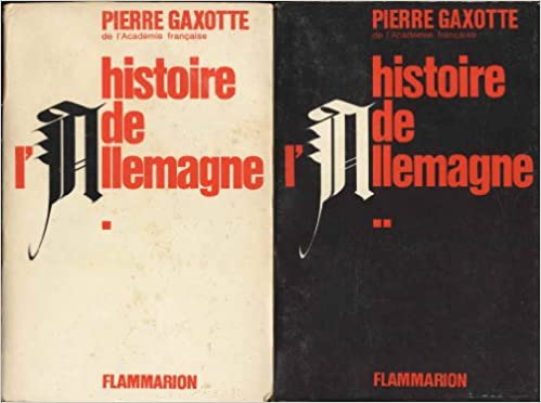 Manuels gratuits à télécharger Histoire de l'allemagne PDF FB2 B001LWUEMA