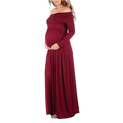Élégante Photographie Maternité Wrap Robe Femmes Enceintes Robe Floral Manches Longues Sirène Maxi Longue Robe Pour Photo Shoot Mariage Soirée