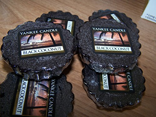 - Lot of 12 Yankee Candle Black Coconut Wax Tarts 0.80 Oz Each (Scented)