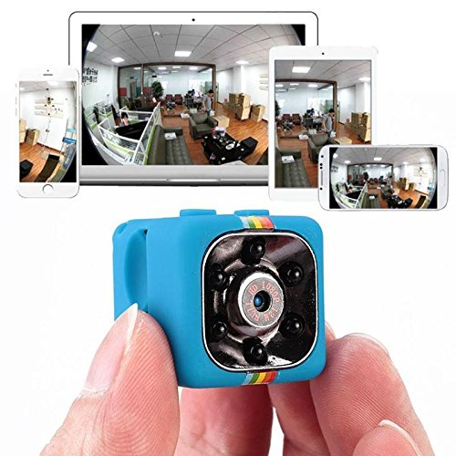 Night Light Doorbells (Action spy hidden mini HD chargeable camera ideal for security surviellence with night vision and motion detection perfect for dashboard outdoors drone nanny camera)
