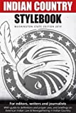 img - for Indian Country Stylebook (2016): Style Guide for Editors, Writers and Journalists book / textbook / text book