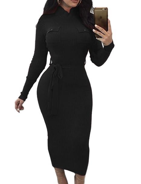 Amazon.com: Imagine para mujer cuello alto manga larga ...