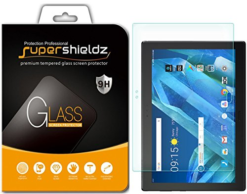 Supershieldz for Lenovo Moto Tab Tempered Glass Screen Protector, Anti-Scratch, Anti-Fingerprint, Bubble Free, Lifetime Replacement