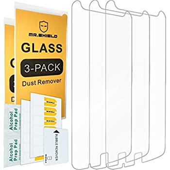 [3-PACK]-Mr Shield For Motorola Moto Z Play [Tempered Glass] Screen Protector with Lifetime Replacement Warranty