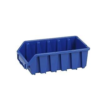 Visión Almacenamiento Caja apilable Tornillo caja apilable 1,3 litros Visión Cajas de almacenamiento material