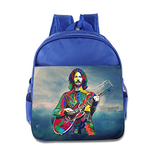 Price comparison product image Custom Eric Clapton Funny Children School Bag For 1-6 Years Old RoyalBlue