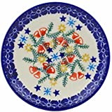 Polish Pottery 5½-inch Saucer (Wreath Of Bealls Theme) + Certificate of Authenticity