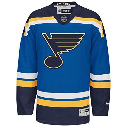 St. Louis Blues Reebok Premier Replica Home NHL Ho – Sports Center Store