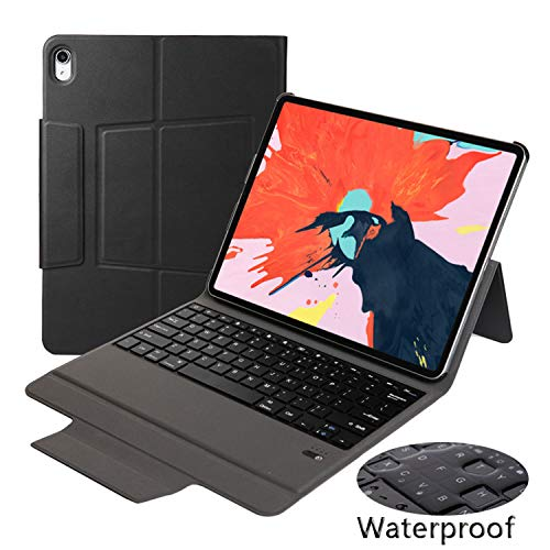 TiKeDa Prime Sale Day Deals Keyboard Case for New iPad Pro 10.5 inch 2019 [Thin and Light]- [US BROADCOM CHIP] with Auto Sleep/Wake for Apple iPad Pro 10.5 inch 2017/2019 (New iPad Air 10.5