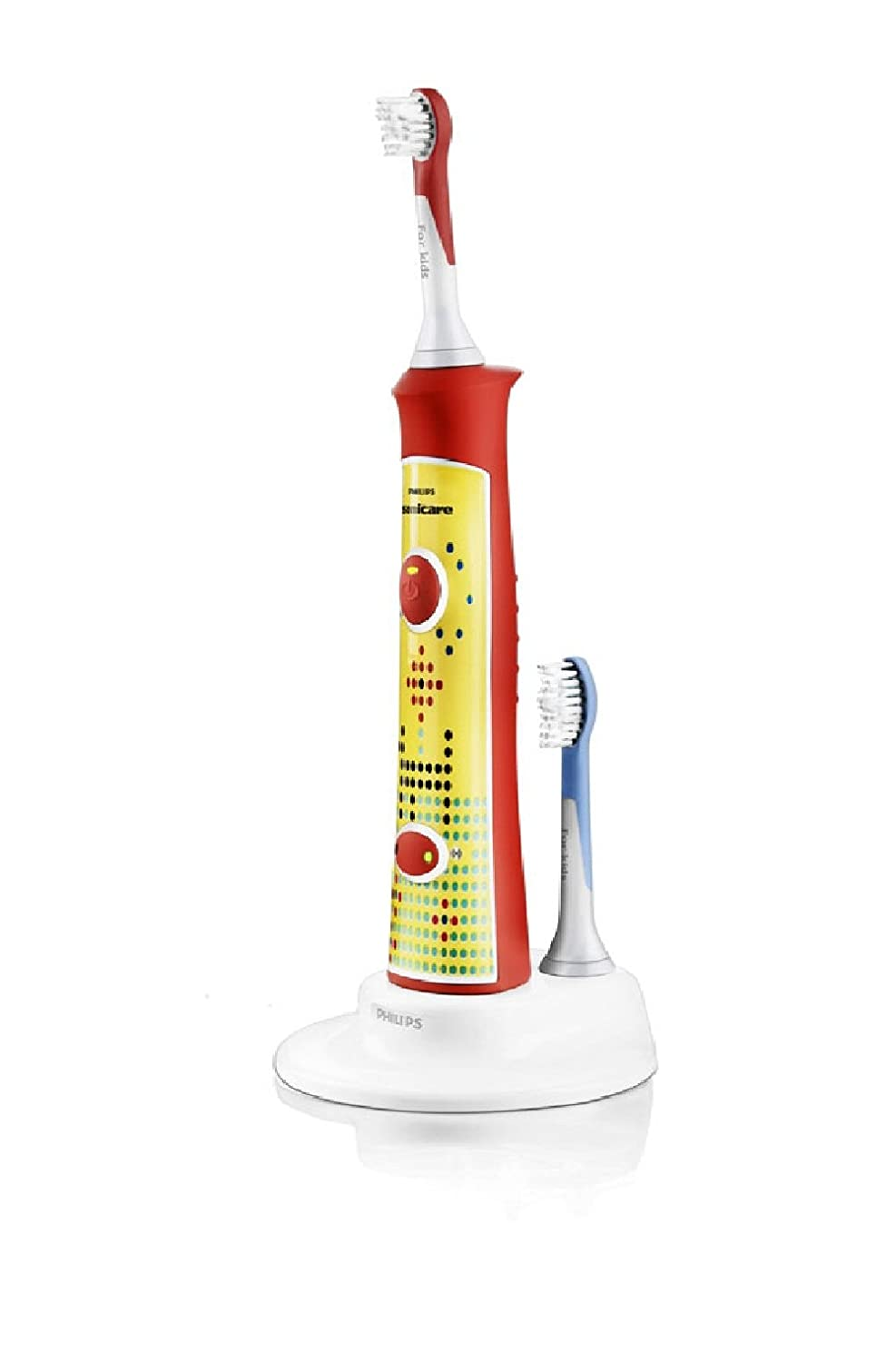 Philips HX6311/02 Sonicare For Kids Rechargeable Sonic Toothbrush (2 Brush Heads)