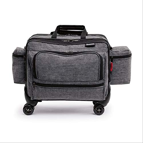 Hopkins Medical Products 4-Wheel Antimicrobial Rolling Medical Bag for Nurses and Home Healthcare (Medical Products)