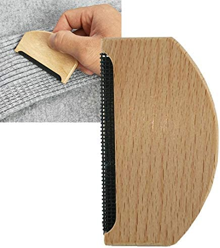 #N/A Portable Lint Remover Fabric Comb Trimmer Wooden Garment Care Anti Pilling Roller Manual Sweater Brush Easy To Use