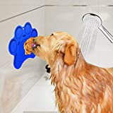 WETONG Dog Lick Pad for Easy and Funny Bath Buddy for Dogs Bath-Lick Lick Pad Dog Washing Distraction Device-Keep Your Dog Happy AND Safe in the Bath Tub