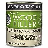 Famowood 36001148 Original Wood Filler, White Pine, One Gallon