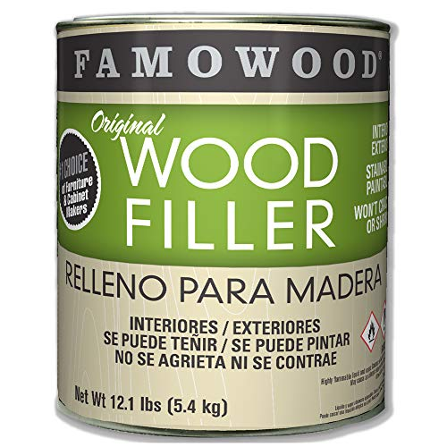 Famowood 36001108 Original Wood Filler, Cedar, One Gallon