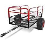 "Titan 60"" x 31"" Steel ATV Utility Trailer 18"" Tires"