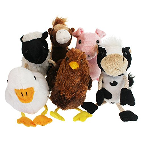 (The Puppet Company Farm Finger Puppets Set of)