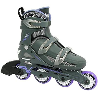 Roller Derby Womens V500 Adjustable Inline Skates from Roller Derby