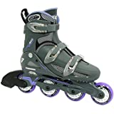 Roller Derby Women's I348-L Adjustable Inline Skate, Large