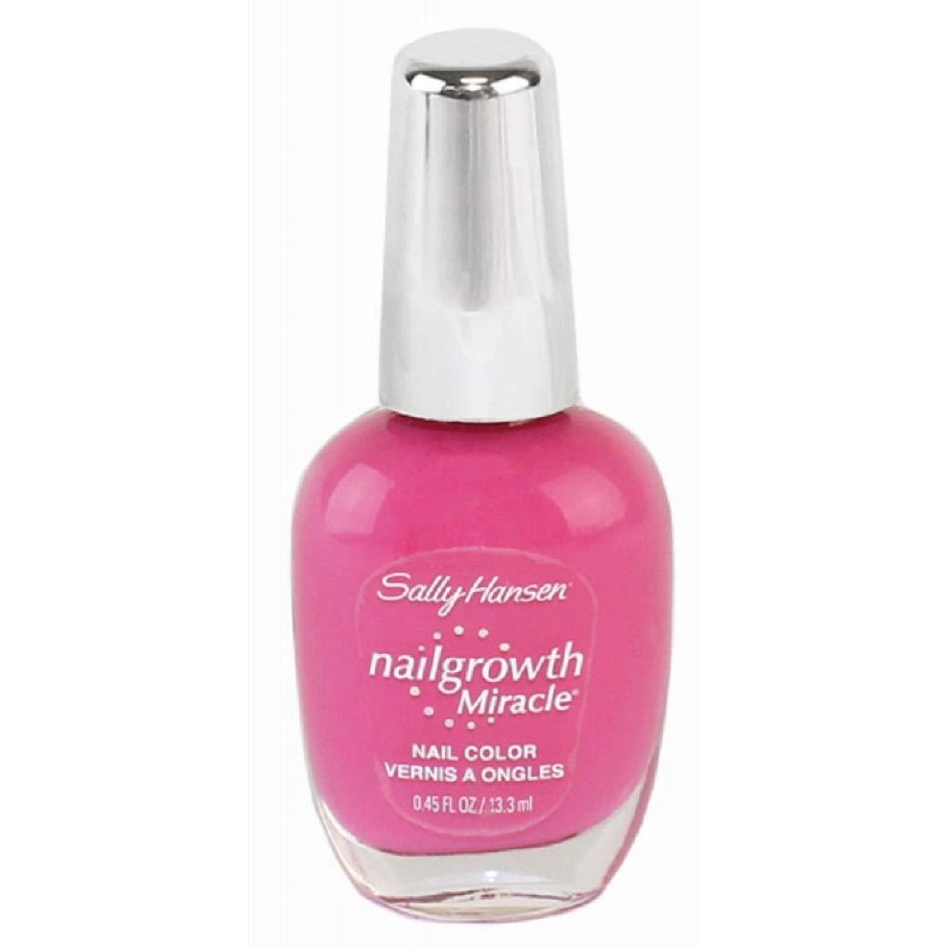 Sally Hansen Nailgrowth Miracle Nail Polish 0.45 Oz 3 ml (165 Kiss of Pink)