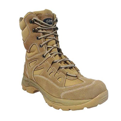 """VooDoo Tactical 04-8479083326 9"""" Boots With Zipper, Desert T"""