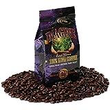 Kona Coffee Beans by Imagine - 100% Kona Hawaii - Medium Dark Roast Whole Bean - 4 oz Bag