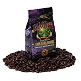 Kona Coffee Beans by Imagine - 100% Kona Hawaii - Medium Dark Roast Whole Bean - 4 oz Bag