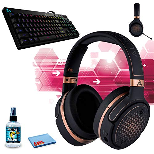 Audeze?Mobius Planar Magnetic Gaming Headset (Copper) G810 Orion Spectrum RGB Mechanical Gaming Keyboard ? Easy-Access Media Control, Backlit Multicolor LED Headphone Cleaning Kit