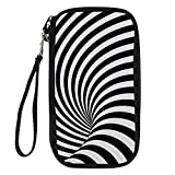 Bigcardesigns Passport Holder Multifunctional Travel Wallet Visual Illusion 3