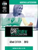 img - for isk CPA Review: Auditing & Attestation, 42nd Edition, 2013(CPA Comprehensive Exam Review- Auditing and Attestation) (Bisk Comprehensive CPA Review) book / textbook / text book