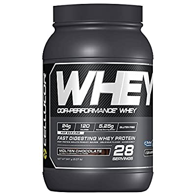 Cellucor Whey Protein Isolate & Concentrate Blend Powder with BCAA, Post Workout Recovery Drink, Gluten Free Low Carb Low Fat, Cinnamon Swirl