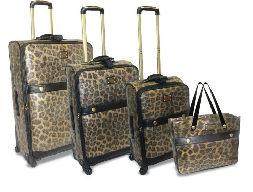 4 Piece Luggage Set, Bags Central