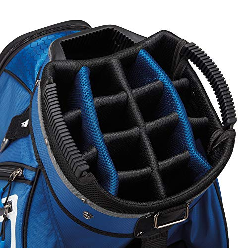 TaylorMade 2019 Golf Select Cart Bag, Blue/White