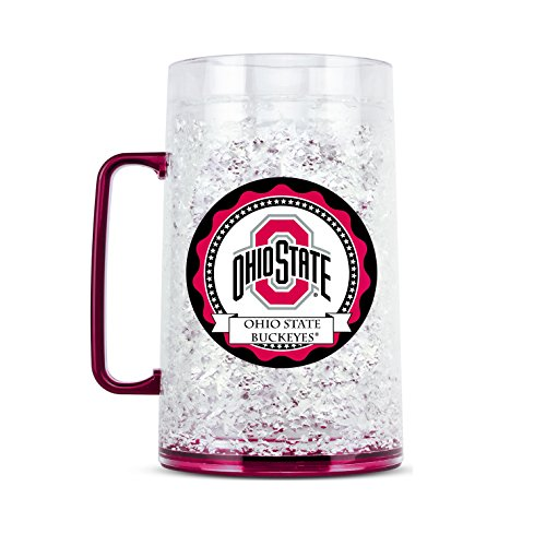 NCAA Ohio State Buckeyes 38oz Crystal Freezer Monster - State Ohio Crystal