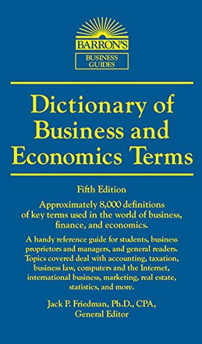 Dictionary of Business and Econo...