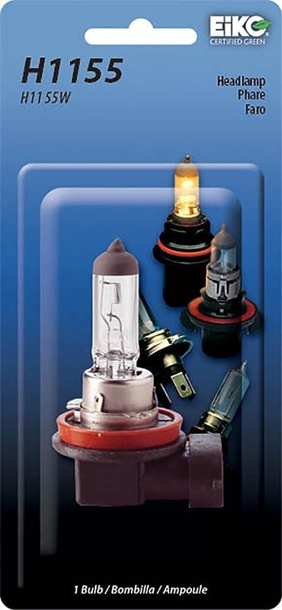 Amazon.com: Eiko H1155-BP H11 Series Halogen Replacement Bulb, (Pack of 1): Automotive
