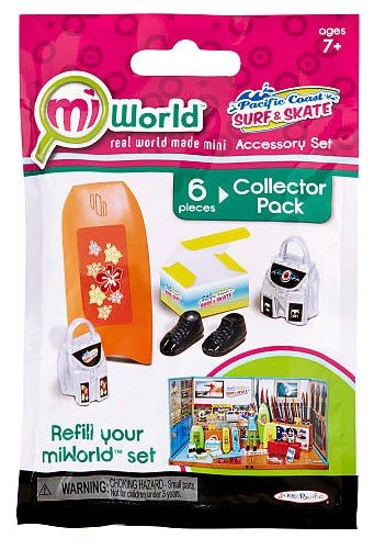 MiWorld Pacific Coast Surf & Skate Collector Pack [Boogie Board]