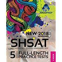 New York City NEW SHSAT Test Prep, Specialized High School Admissions Test (Argo Brothers)