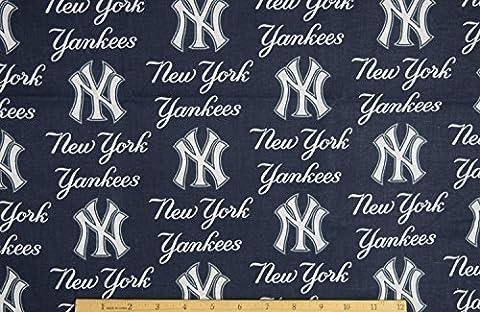 New York Yankees Fabric Pre-cut 1.5 Yard Pieces 54