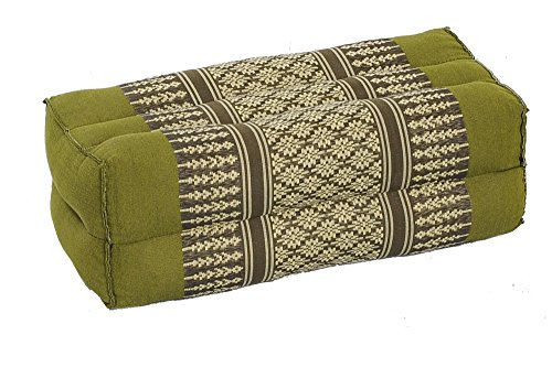 Meditation Cushion & Yoga Prop, 100% Kapok (Bamboogreen). By Kapok-Dreams.