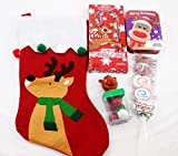 Happy Ho-ho-ho to You! Holiday Candy Filled Stocking Assortment (Reindeer)