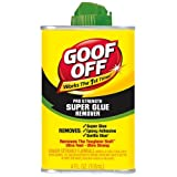 Goof Off FG677 Super Glue Remover, 4-Ounce by Goof Off