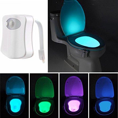 Kingso Led Toilet Light Sensor Motion Activated Glow